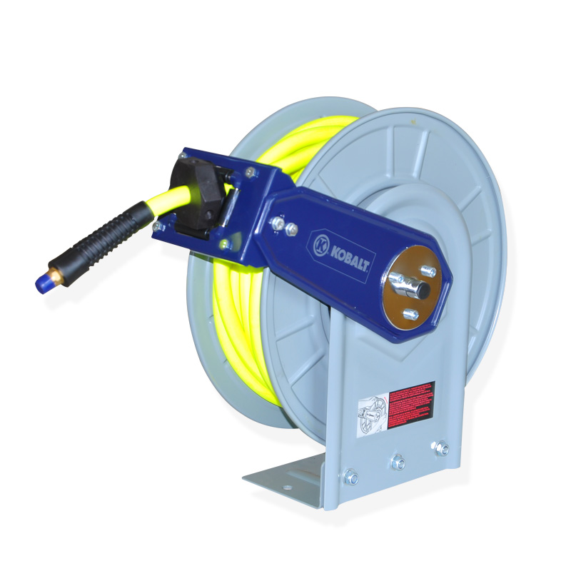 Heavy Duty Retractable Wall-Mounted air Hose Reel with Dual Arm 1-1