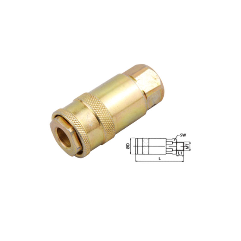 Pneumatic Components  Metal Female Quick Disconnect Coupling JE9-SF
