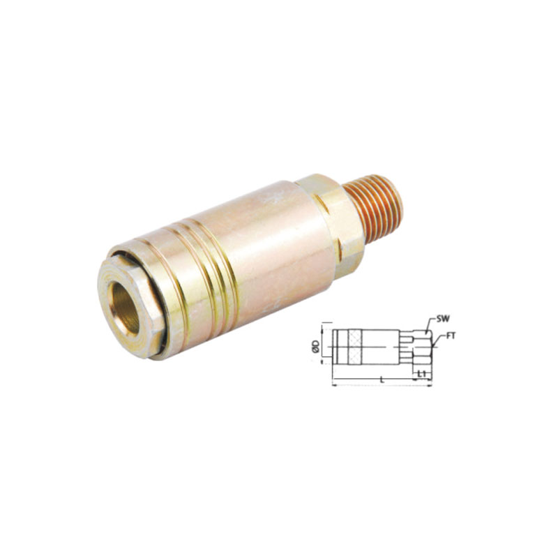 Universal interchange type air quick coupler JE10-SM
