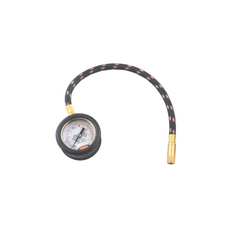 160 PSI Professional Tire Pressure Gauge with Protective Rubber Guard JTG26