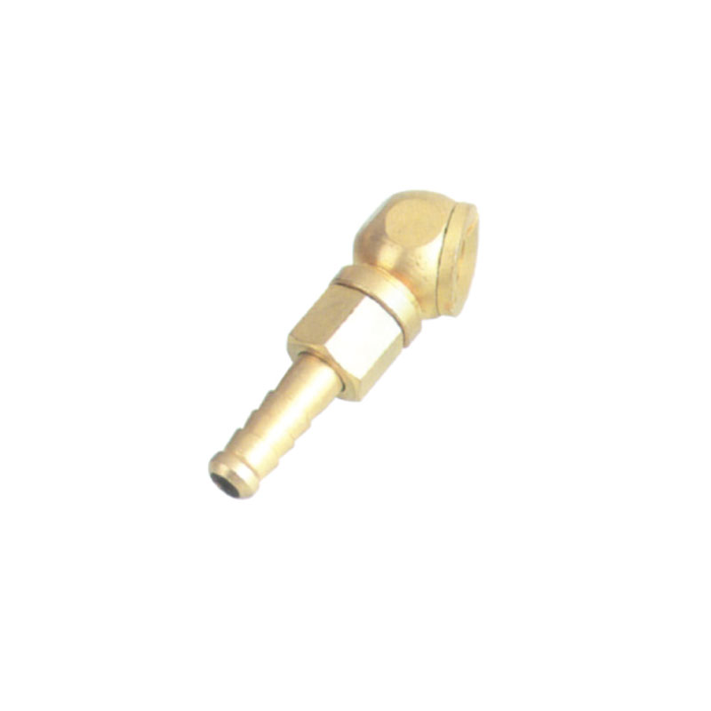 tire valve ball type angled air chuck JAC19