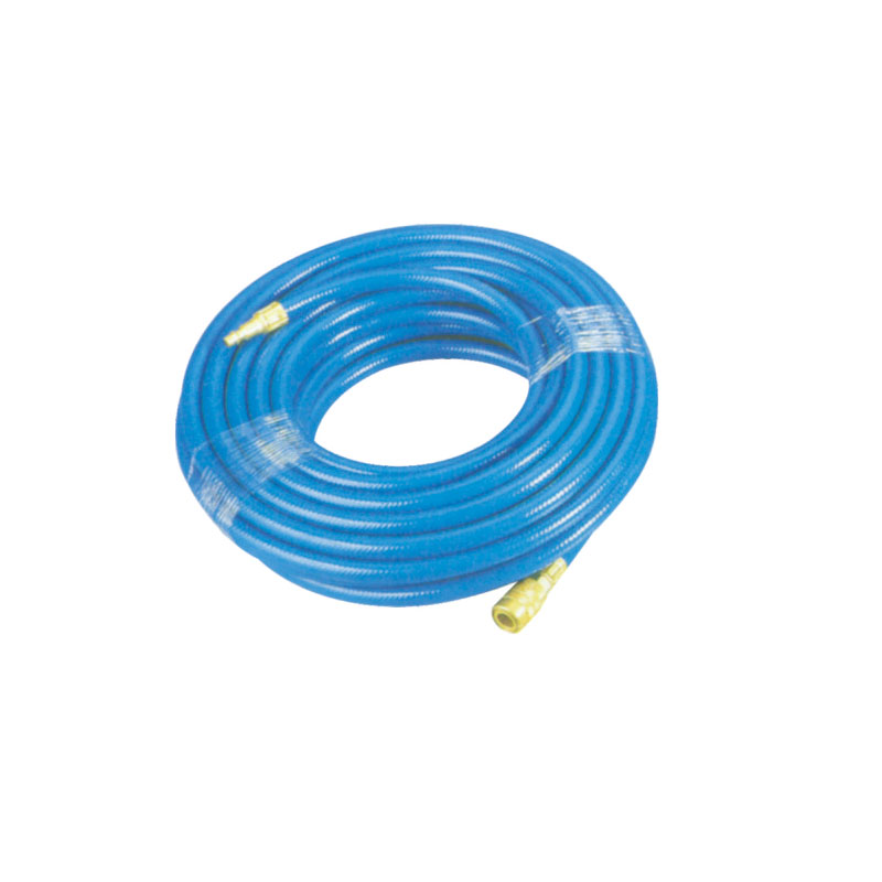 Blue Pvc Hose With 1/4