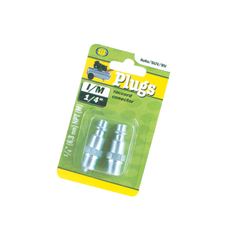 Air Hose Plugs Male Quick Plugs 2pcs Jk-11