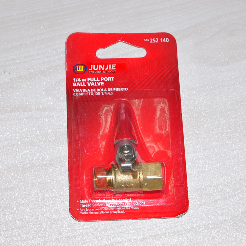 1/4 in full port ball valve JK-34